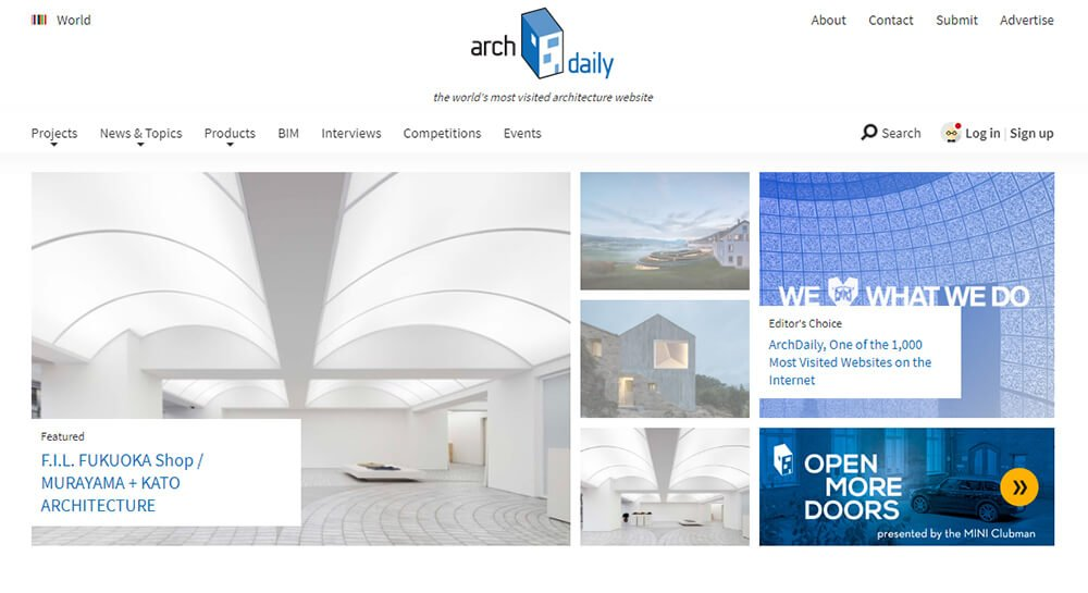 Archdaily: One Of The Best Inspiration Sites For Architects