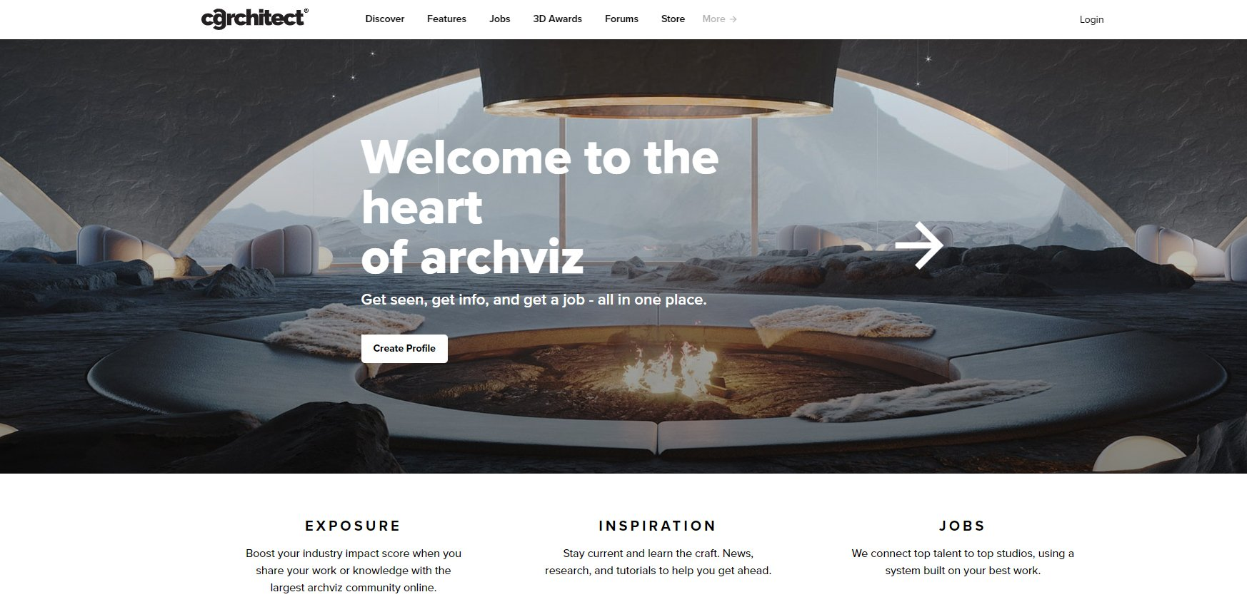 Looking for Inspiration on CGArchitect Platform