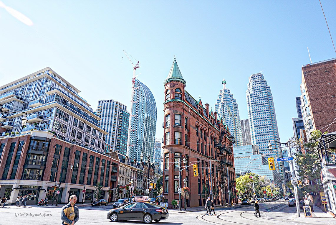 Gooderham Flatiron Photo for Office Building Rendering