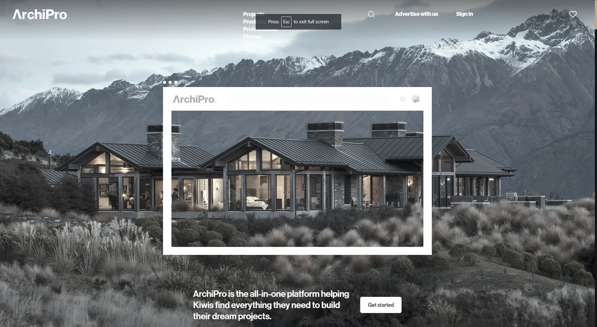 Websites for Architects: ArchiPro