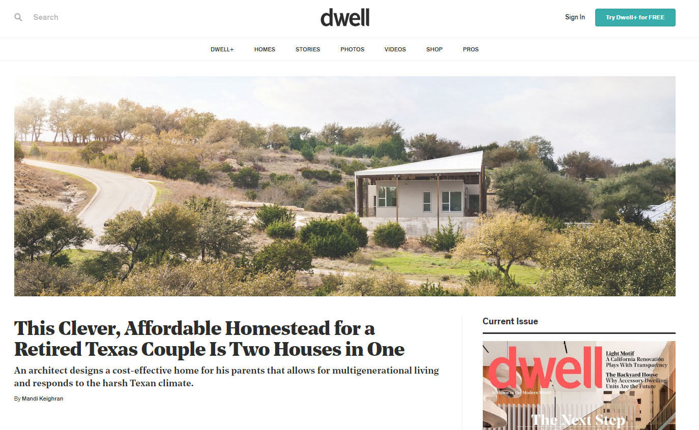 Websites for Architects: Dwell