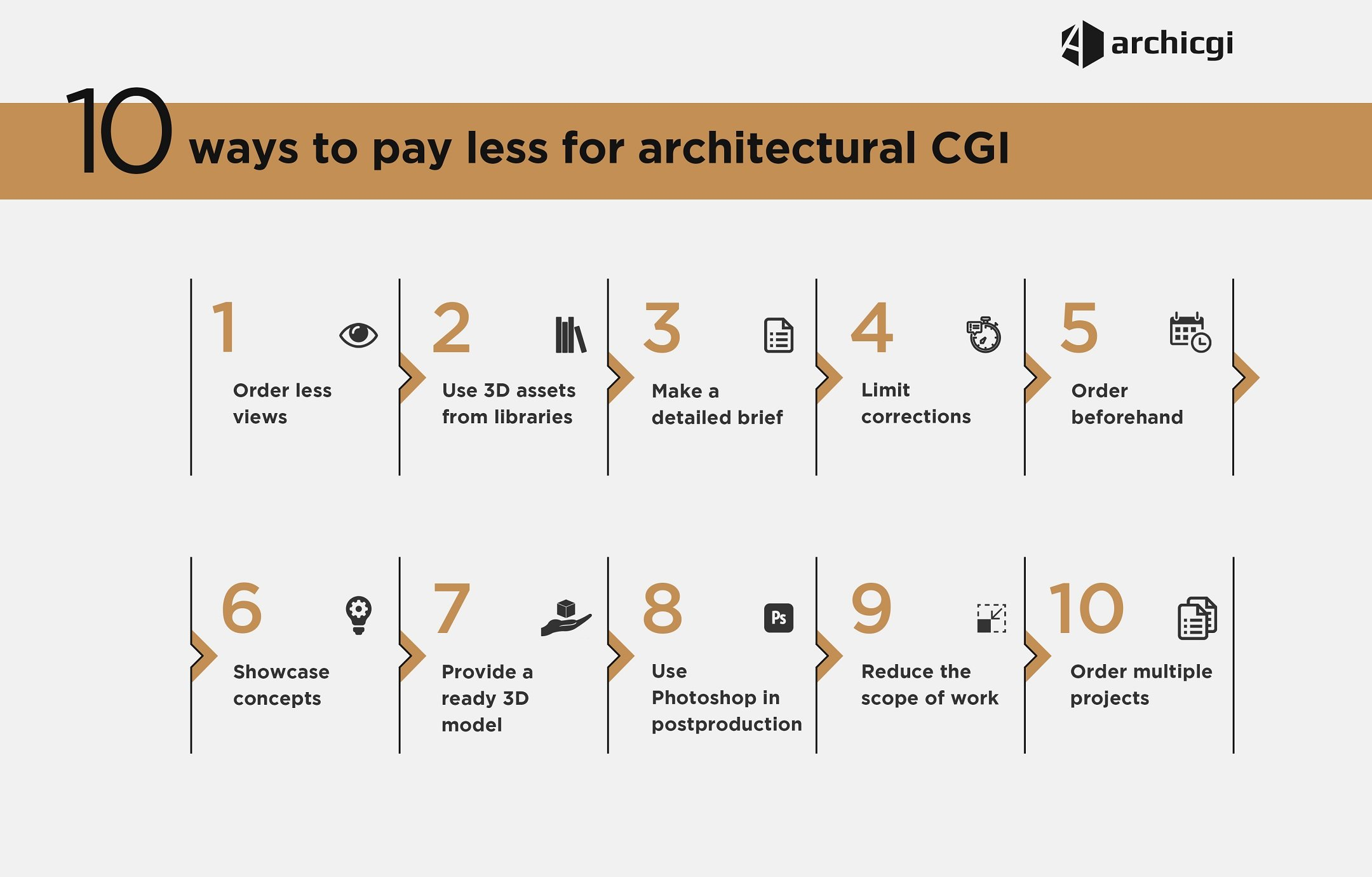 10 Tips to Pay Less for Architectural Rendering