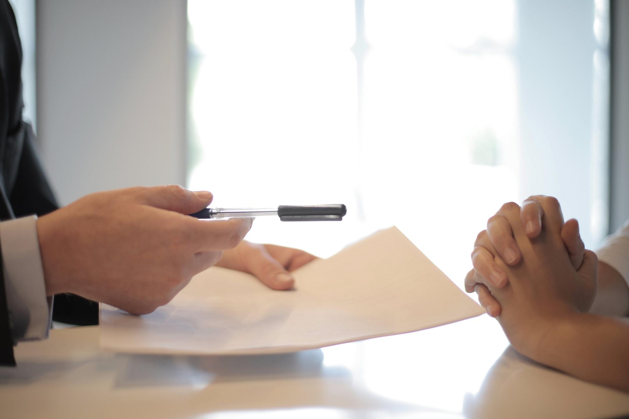 A Client and a CGI Studio Representative Signing NDA