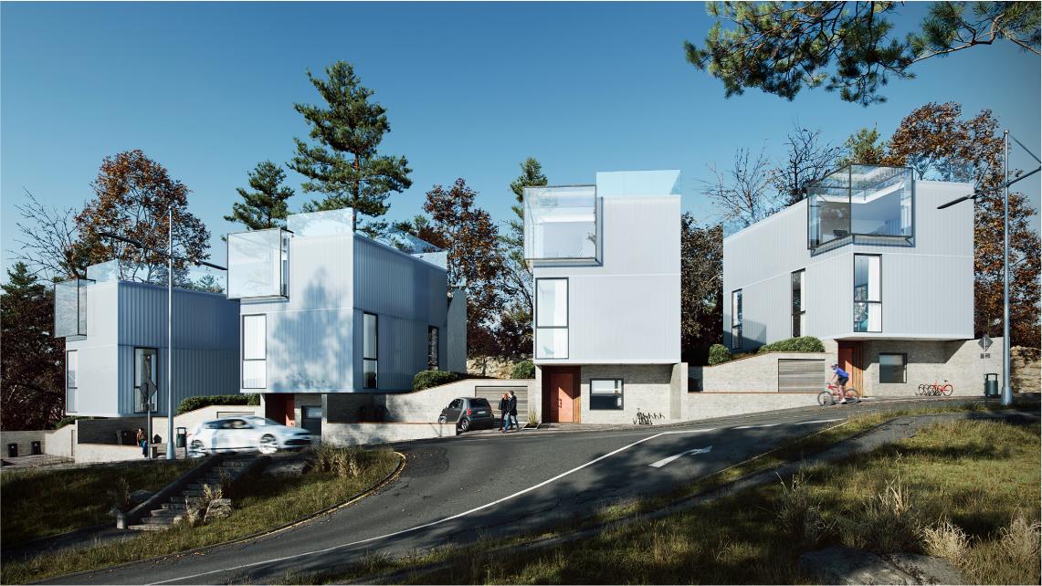 Photorealistic Architectural Render's Scene