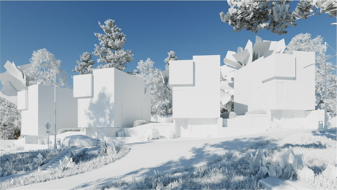 Photorealistic Architectural Renders Workflow: Scene Modeling