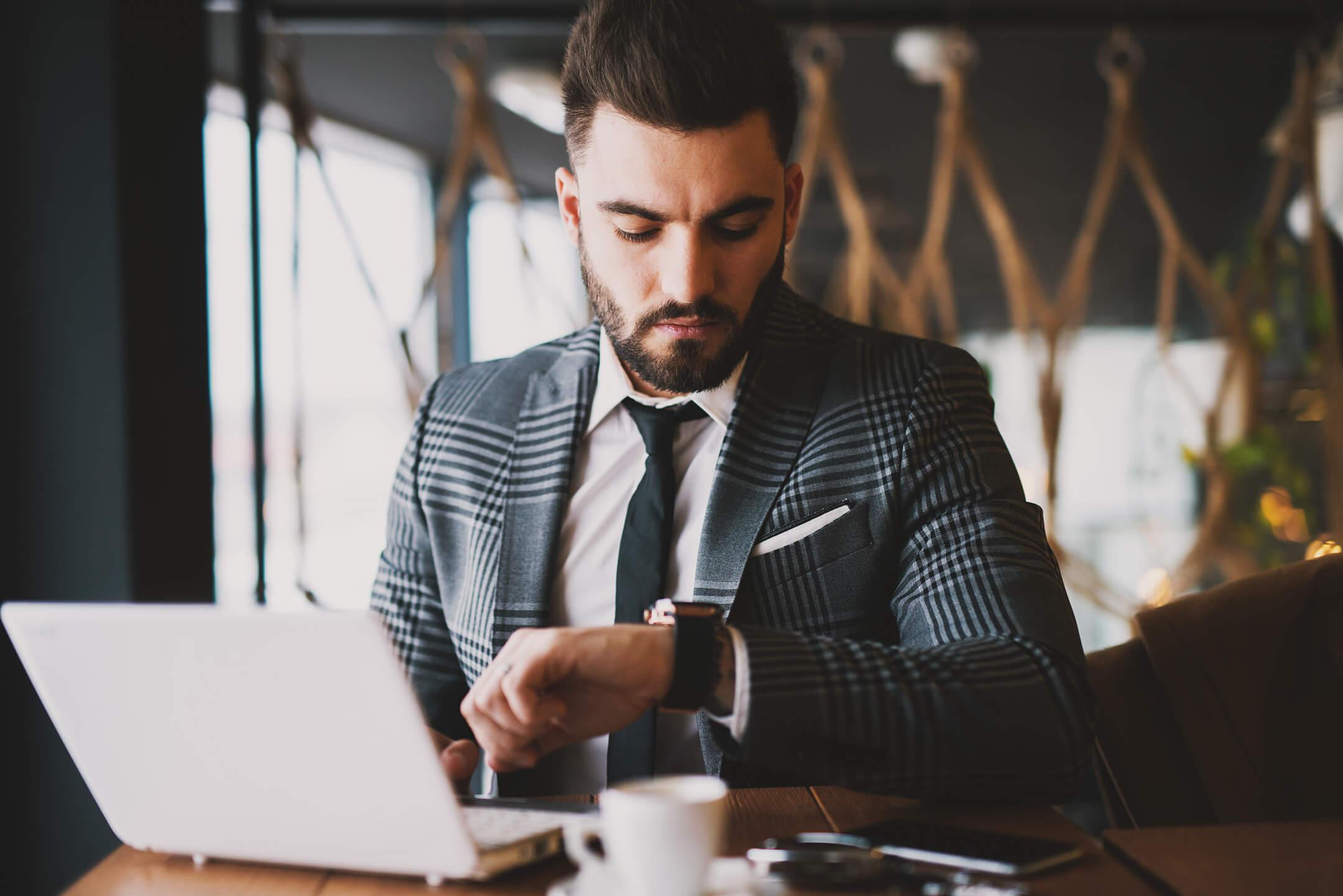Real Estate Agent Managing a Social Media Account