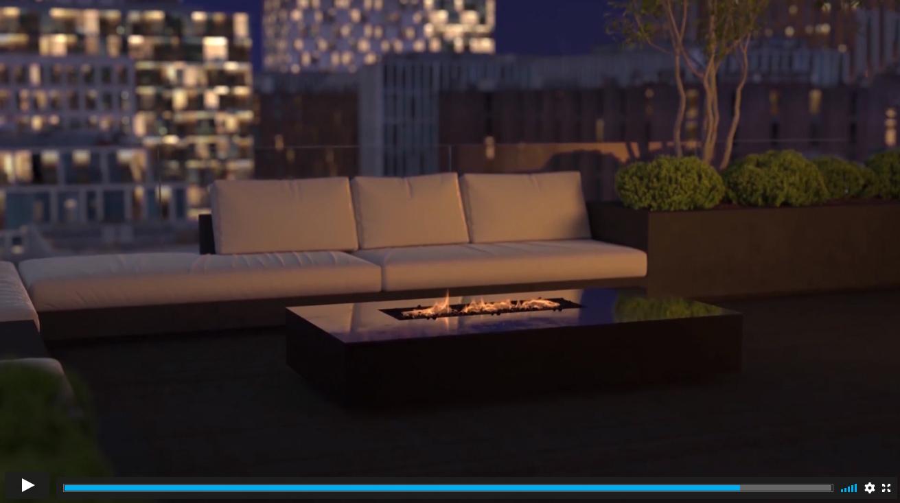 3D Walkthrough for a Penthouse with a Terrace