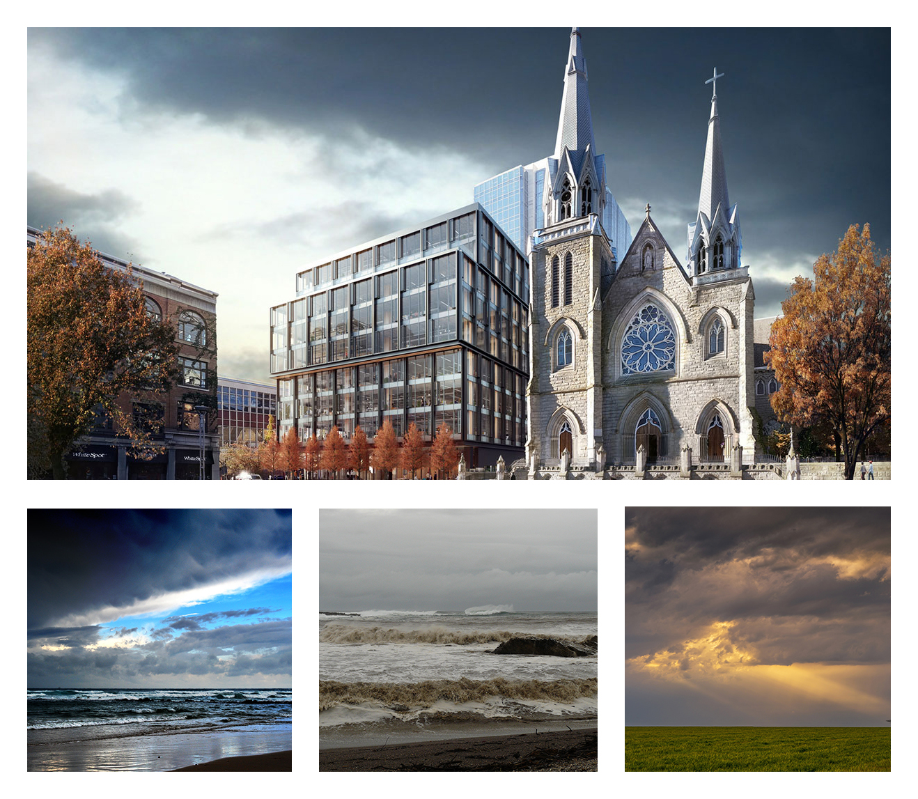 Mood References for Exterior Architectural Rendering