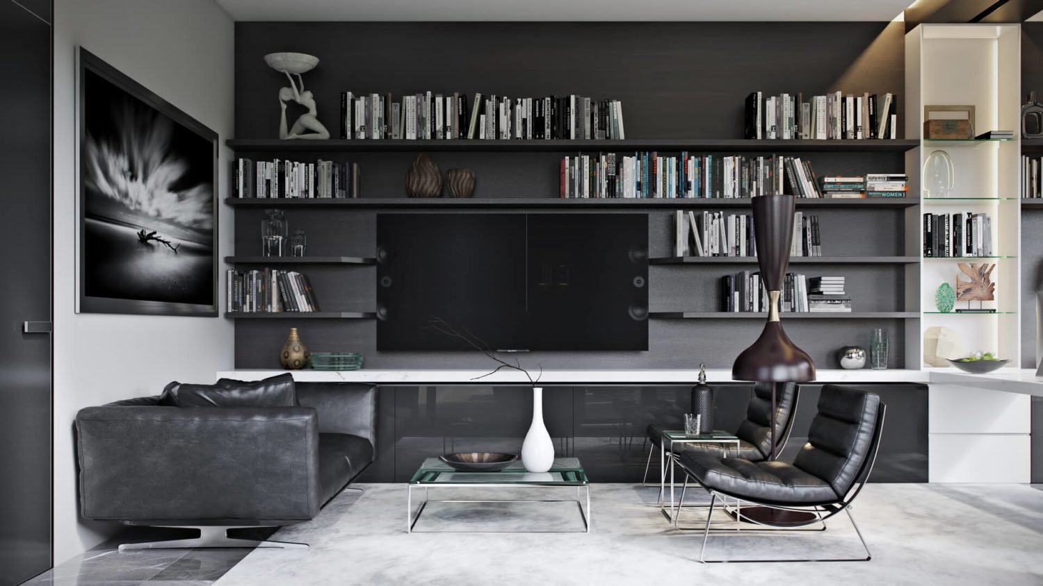 3D Visualization of a Big Home Office