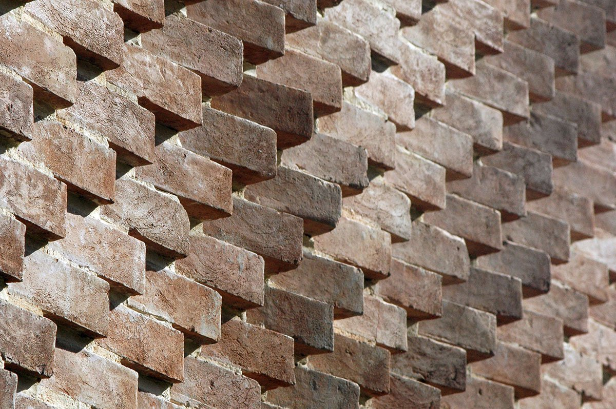 Parametric Brick Wall Reference for Architectural Rendering