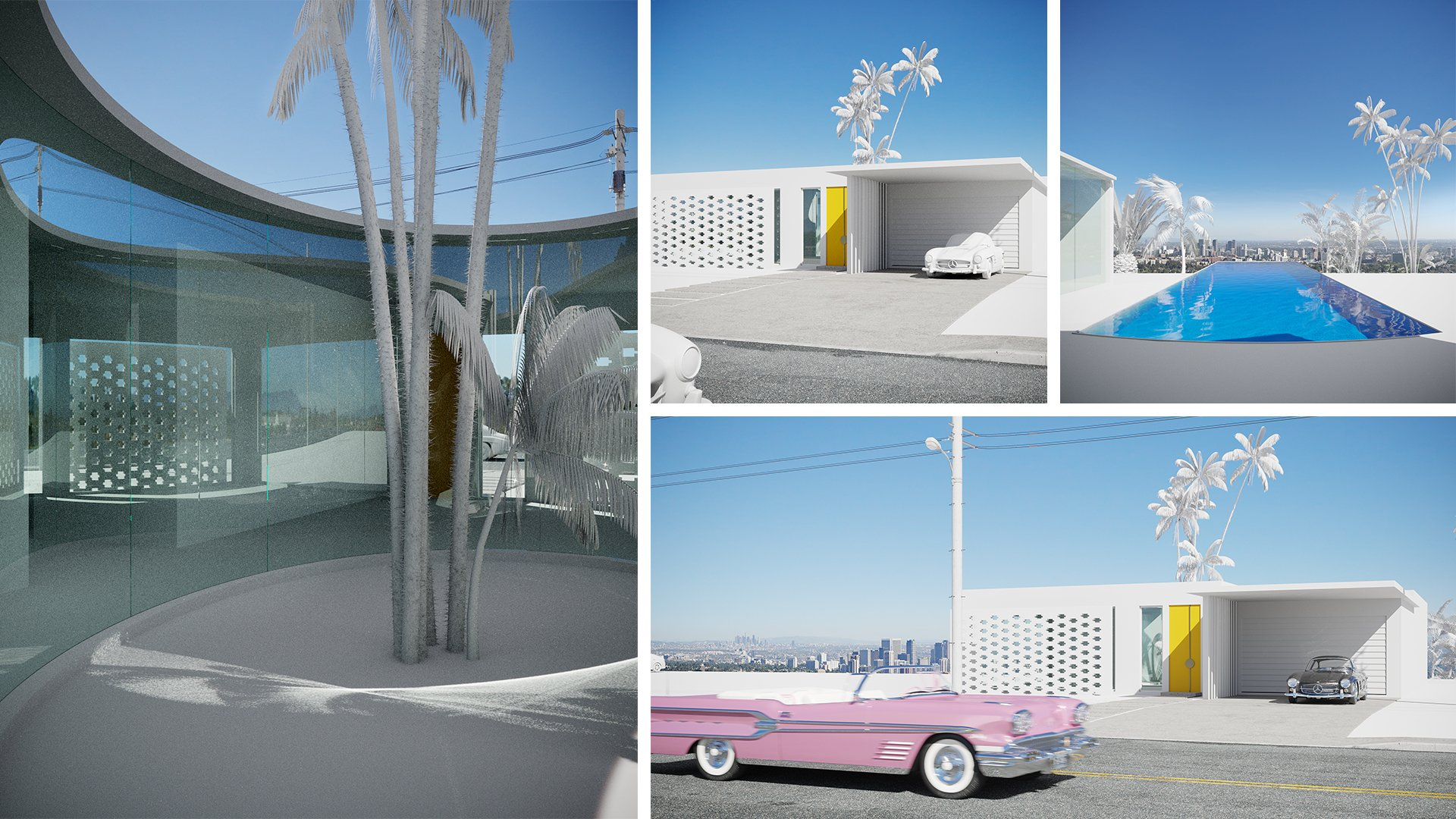 Architectural Concept Renderings First Version