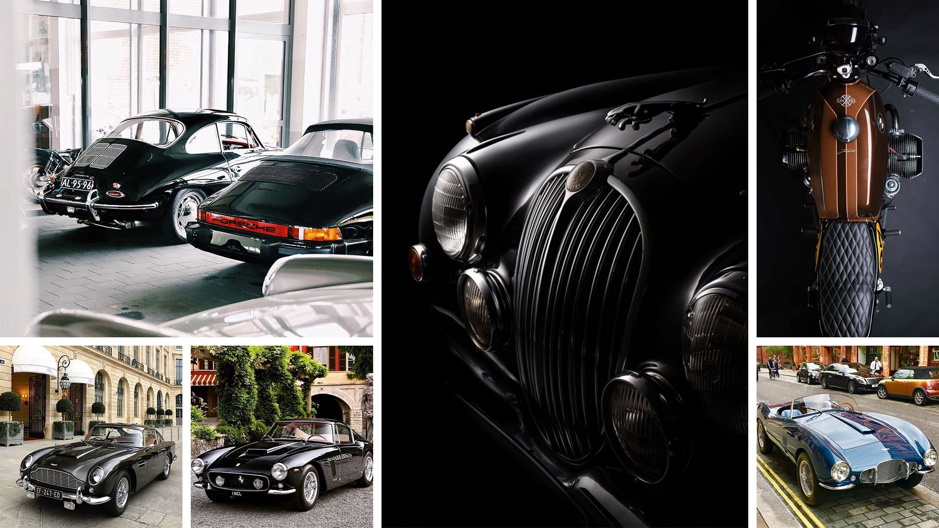 Vintage Cars Inspiration for Architectural Renderings