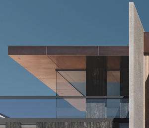Copper Finish in the Architectural Rendering