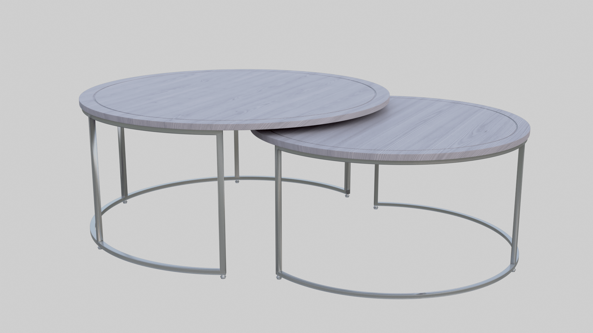 High-Quality 3D Model of a Coffee Table