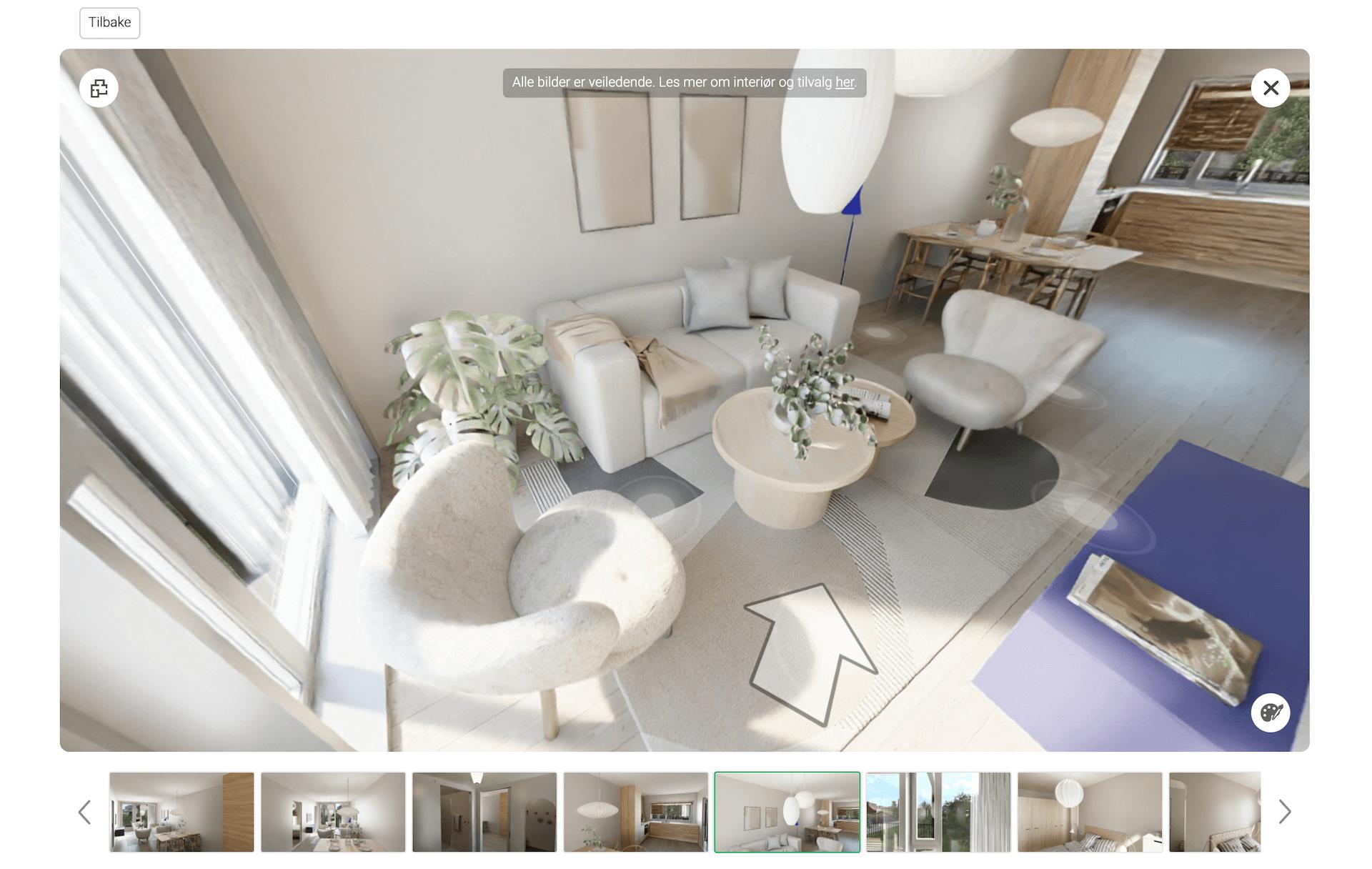 3D Virtual Tour of an Apartment