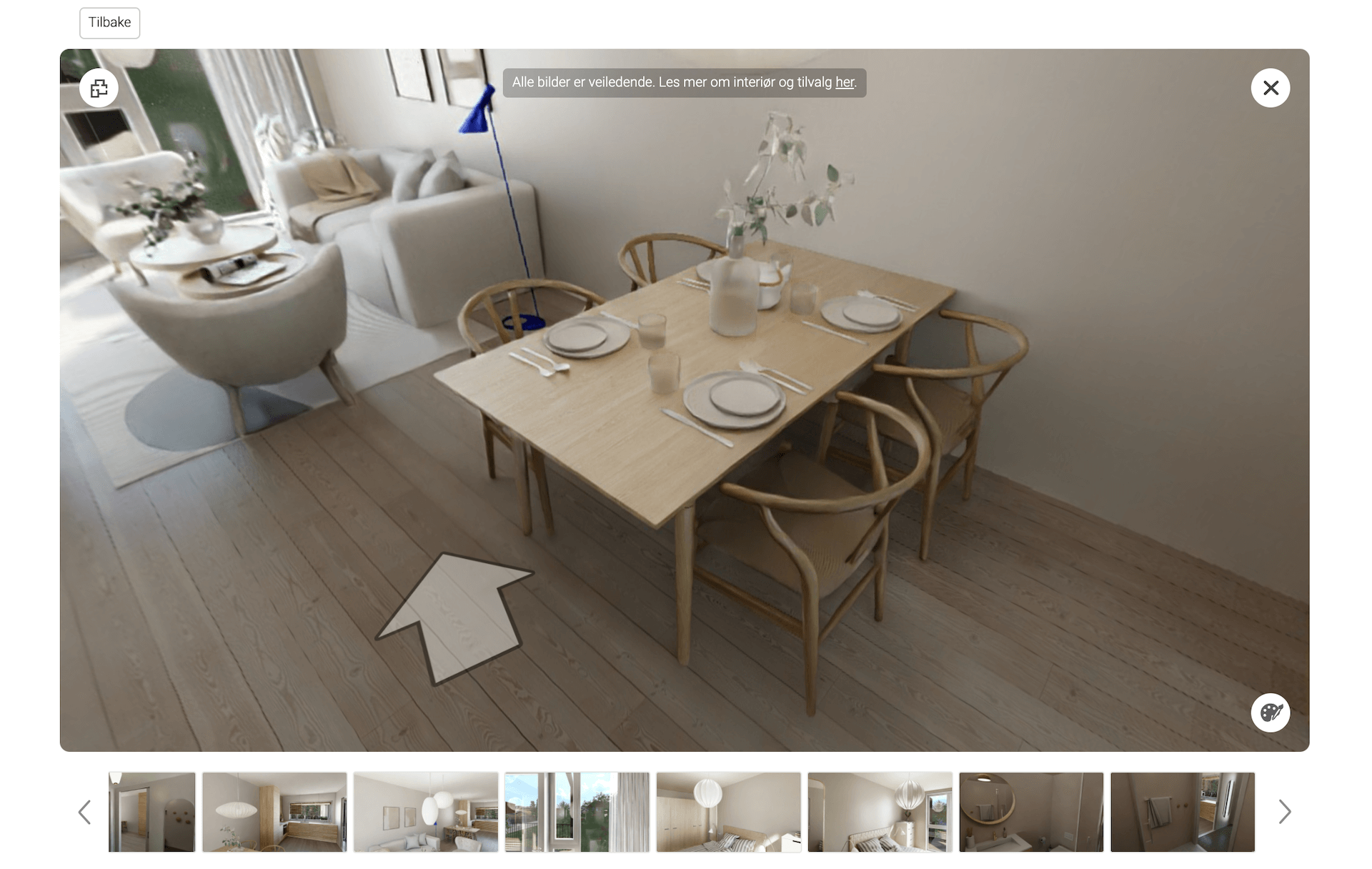 3D Tour with Virtual Staging