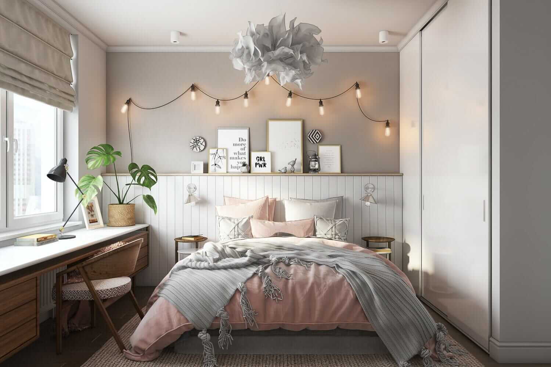 High-Quality Bedroom CGI for a Cute Interior Design