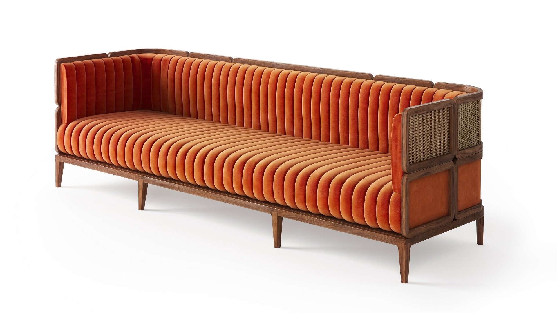 3D Rendering of a Couch