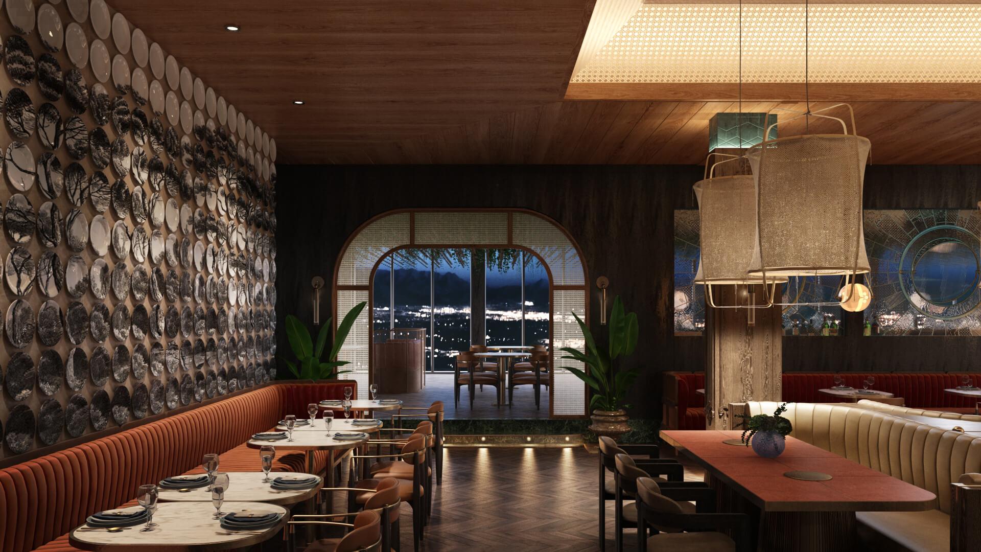 3D Visualization for a Restaurant Design