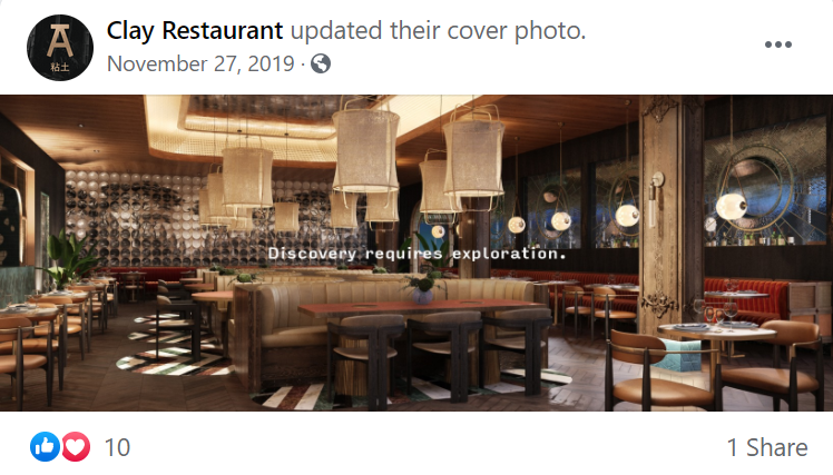 3D Rendering of a Restaurant Used in SMM