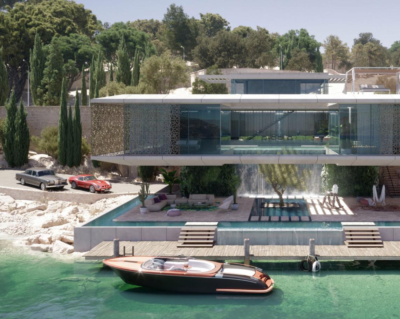 3D Digital Marketing Asset for a Luxurious Villa Promotion
