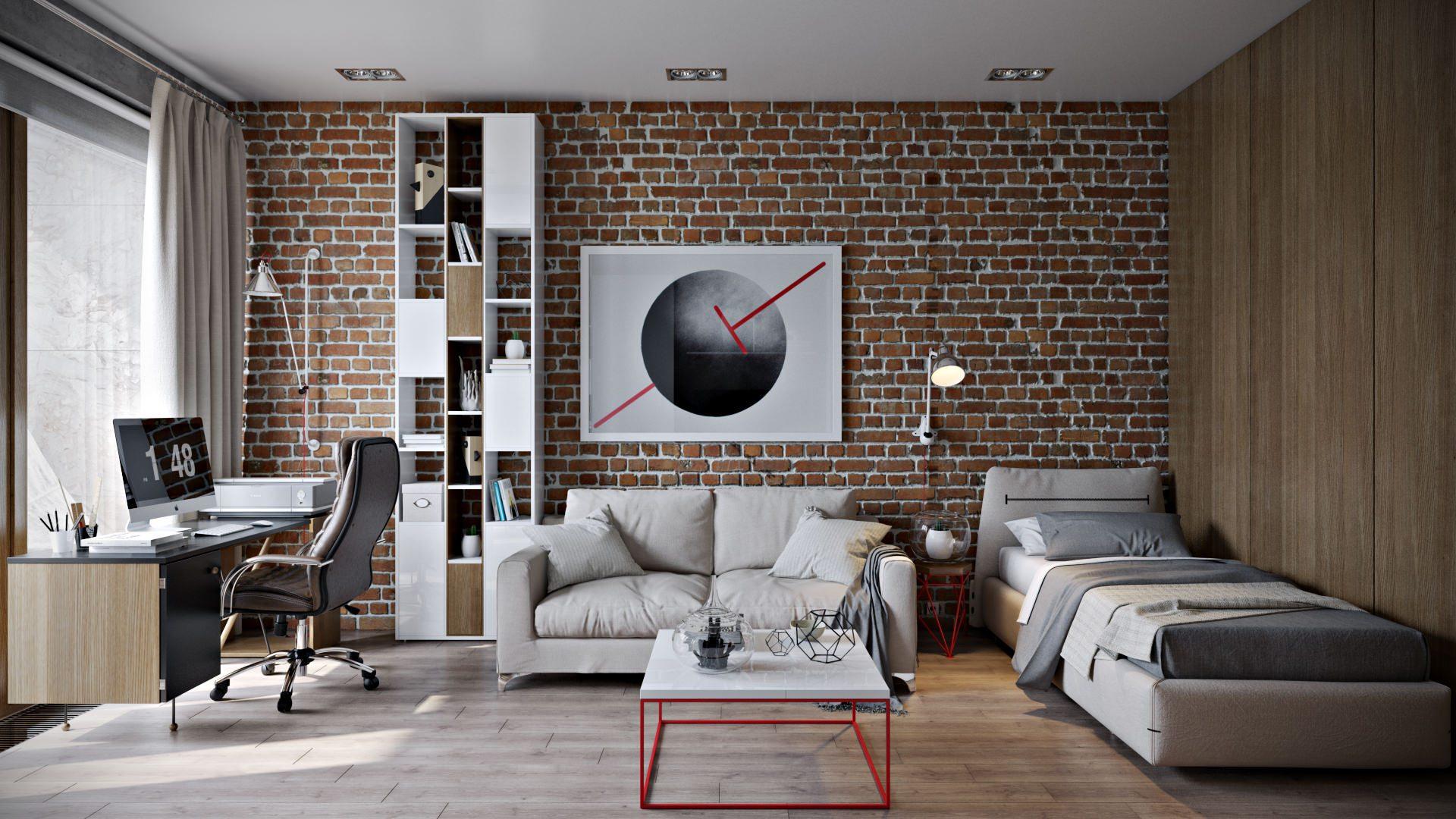 Photorealistic CGI for a Multi-Purpose Living Room Concept