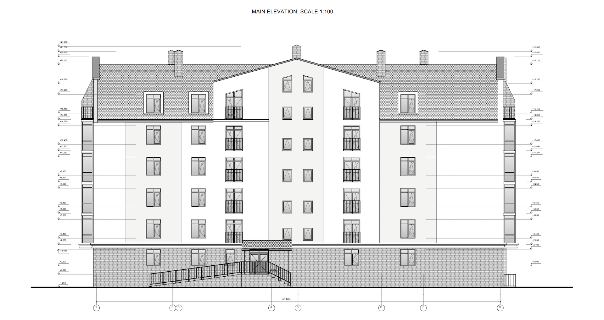 Architectural Drawing as a Reference for 3D Modeling
