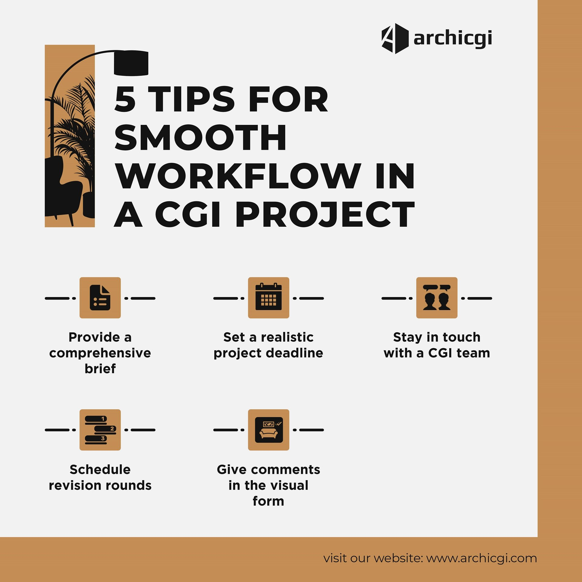 5 Tips on 3D Project Smooth Workflow