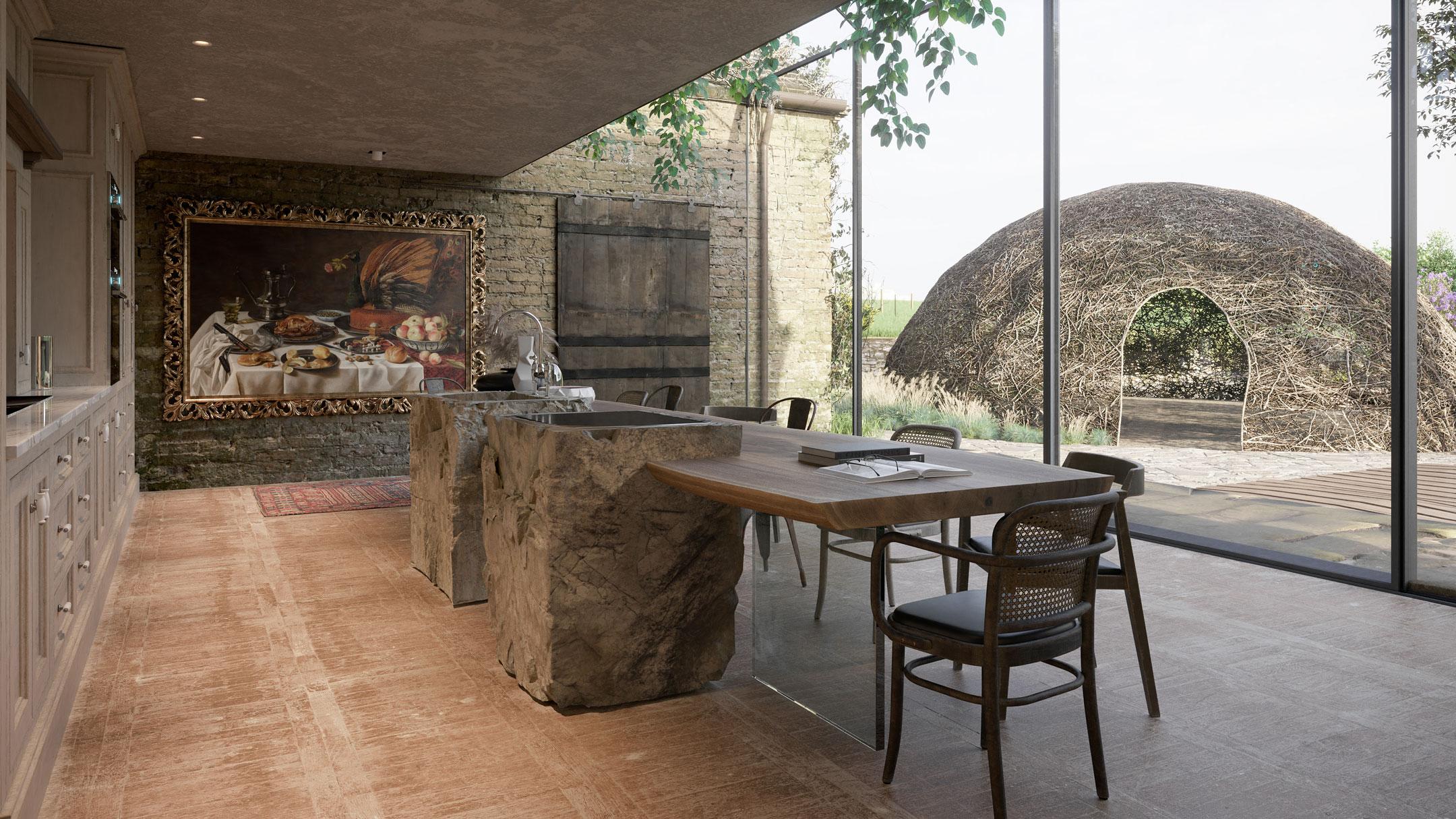 CGI for Kitchen Interior Design
