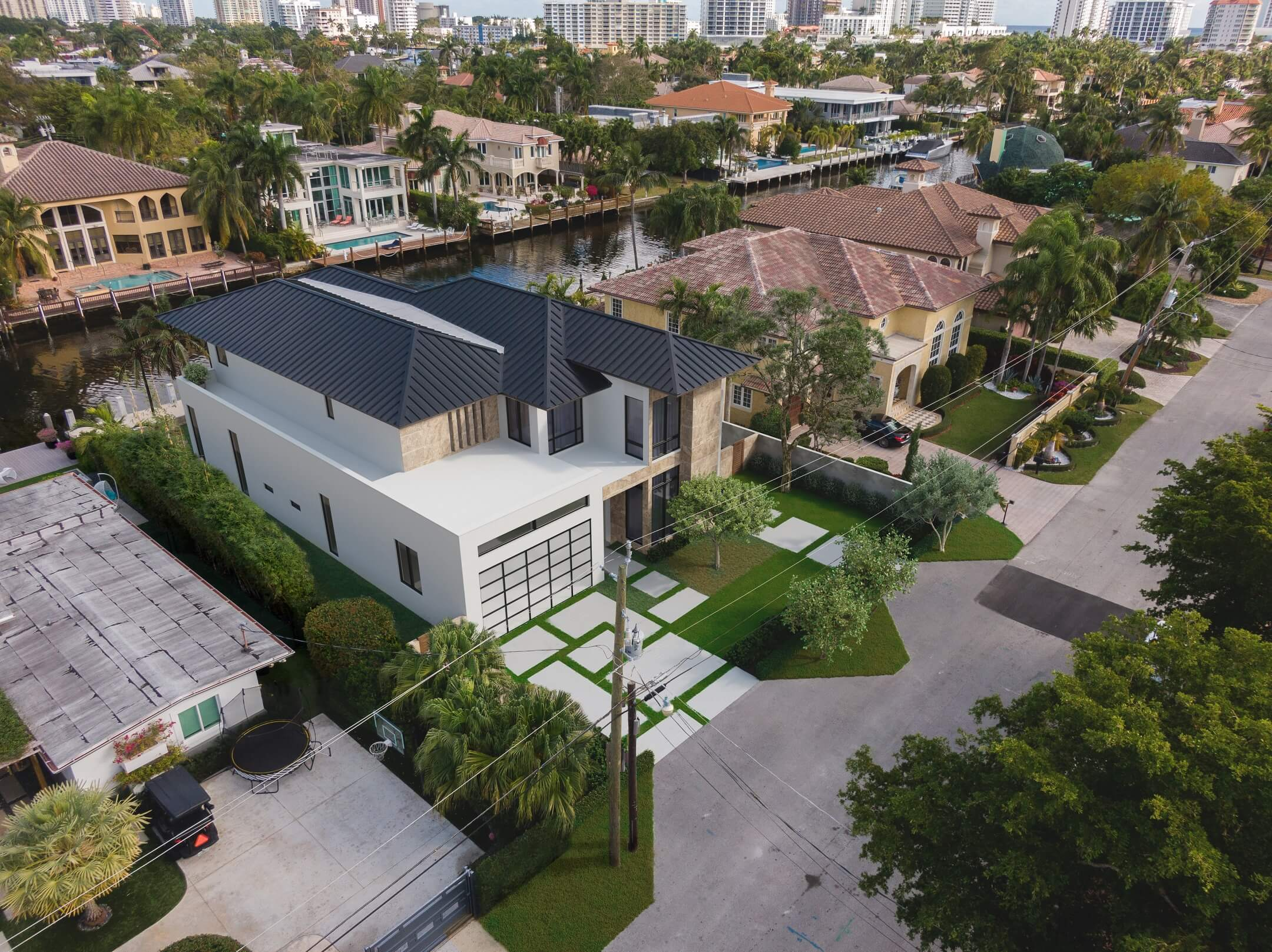An Aerial 3D Rendering for Real Estate