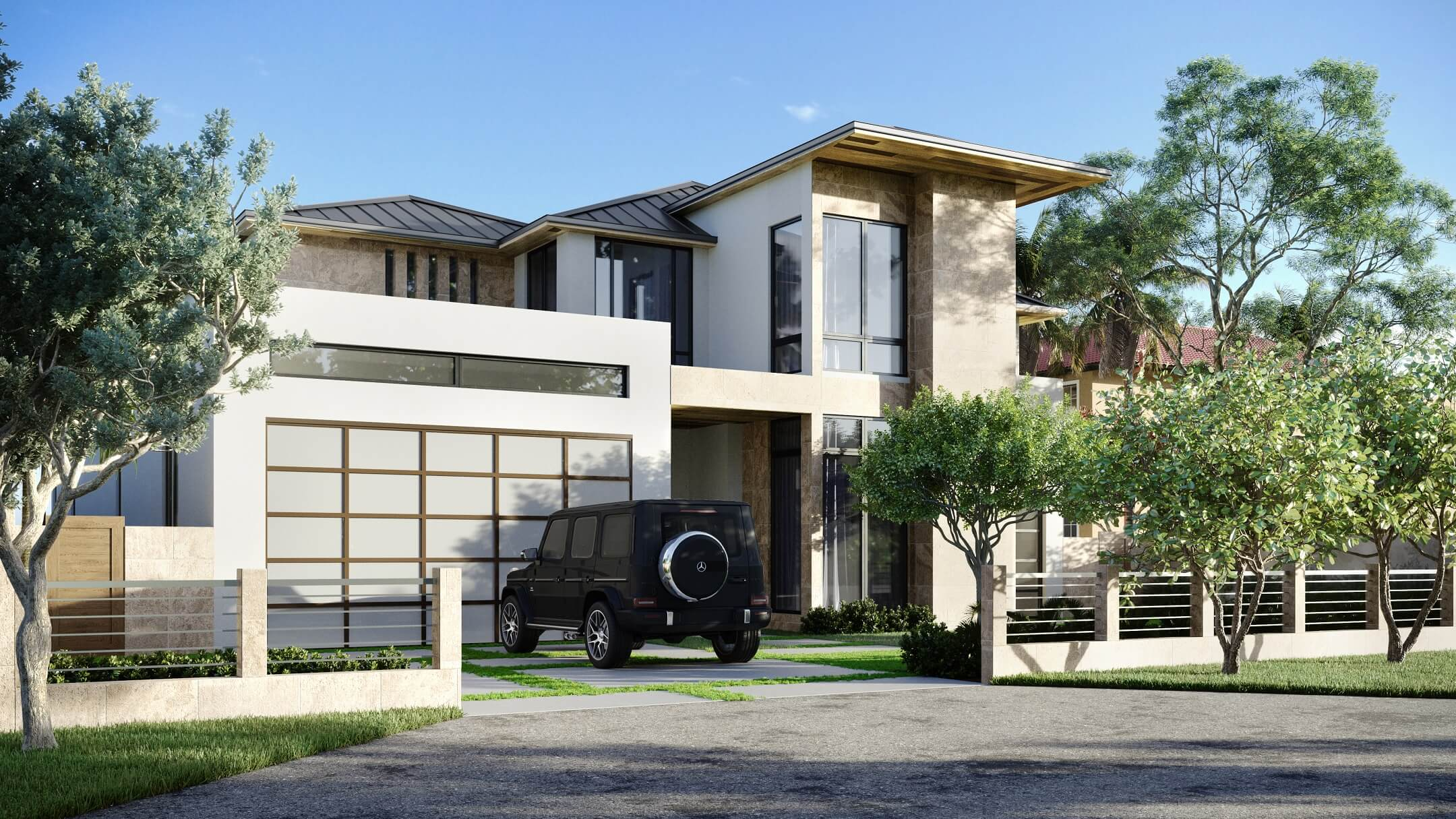 An Intermediate 3D Rendering for Real Estate