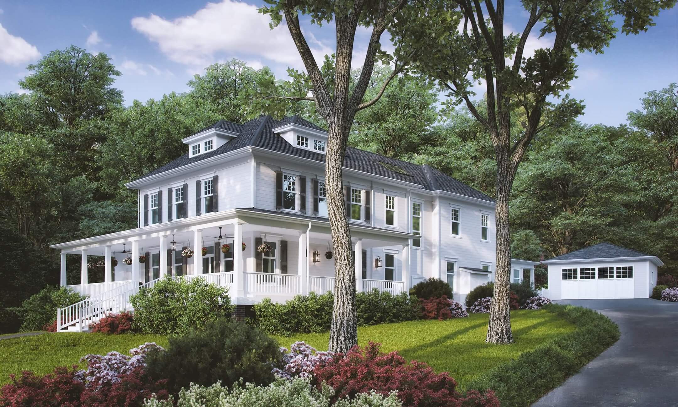 Architectural Visualization for a Family Residence