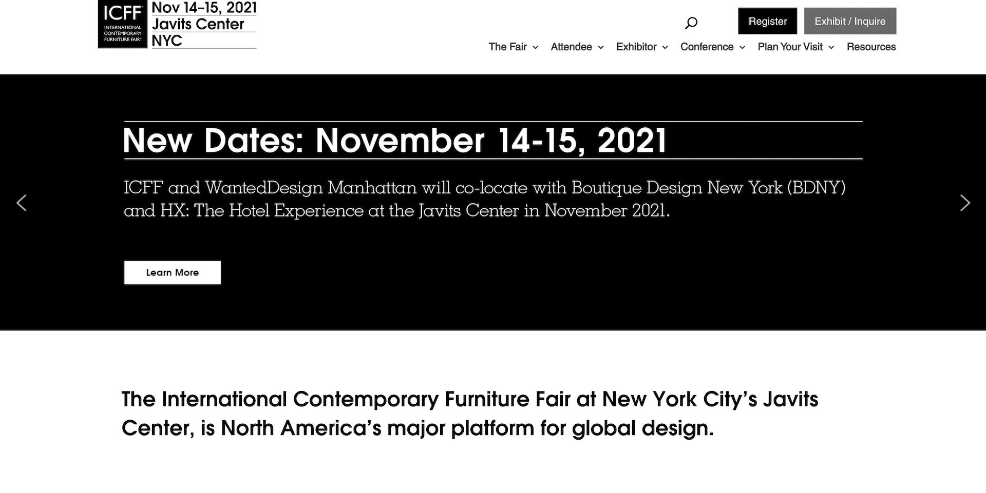 Top Interior Design Exhibitions: ICFF