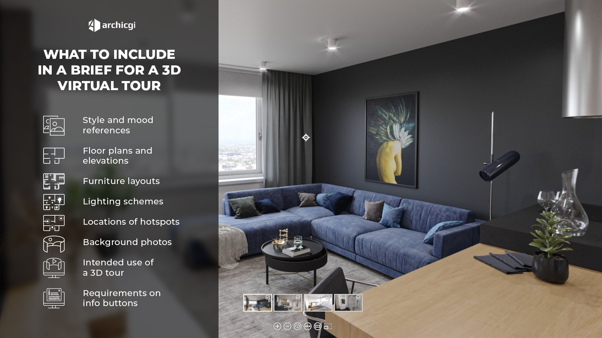 8 Elements of a Brief for a Virtual Apartment Tour